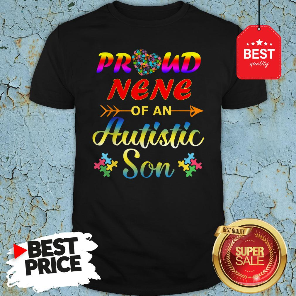 Autism Awareness Tee Proud Nene Autistic Son Funny Gifts Shirt