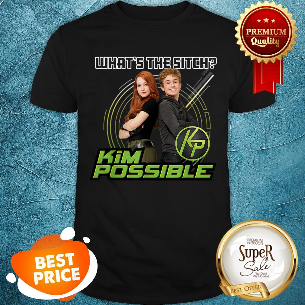 Nice Disney Kim Possible What's The Sitch Shirt