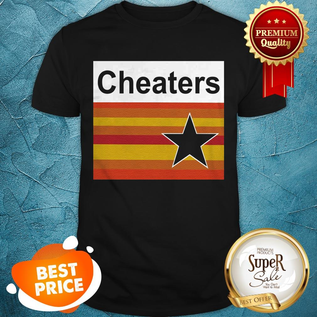 Nice Astros Cheaters Shirt