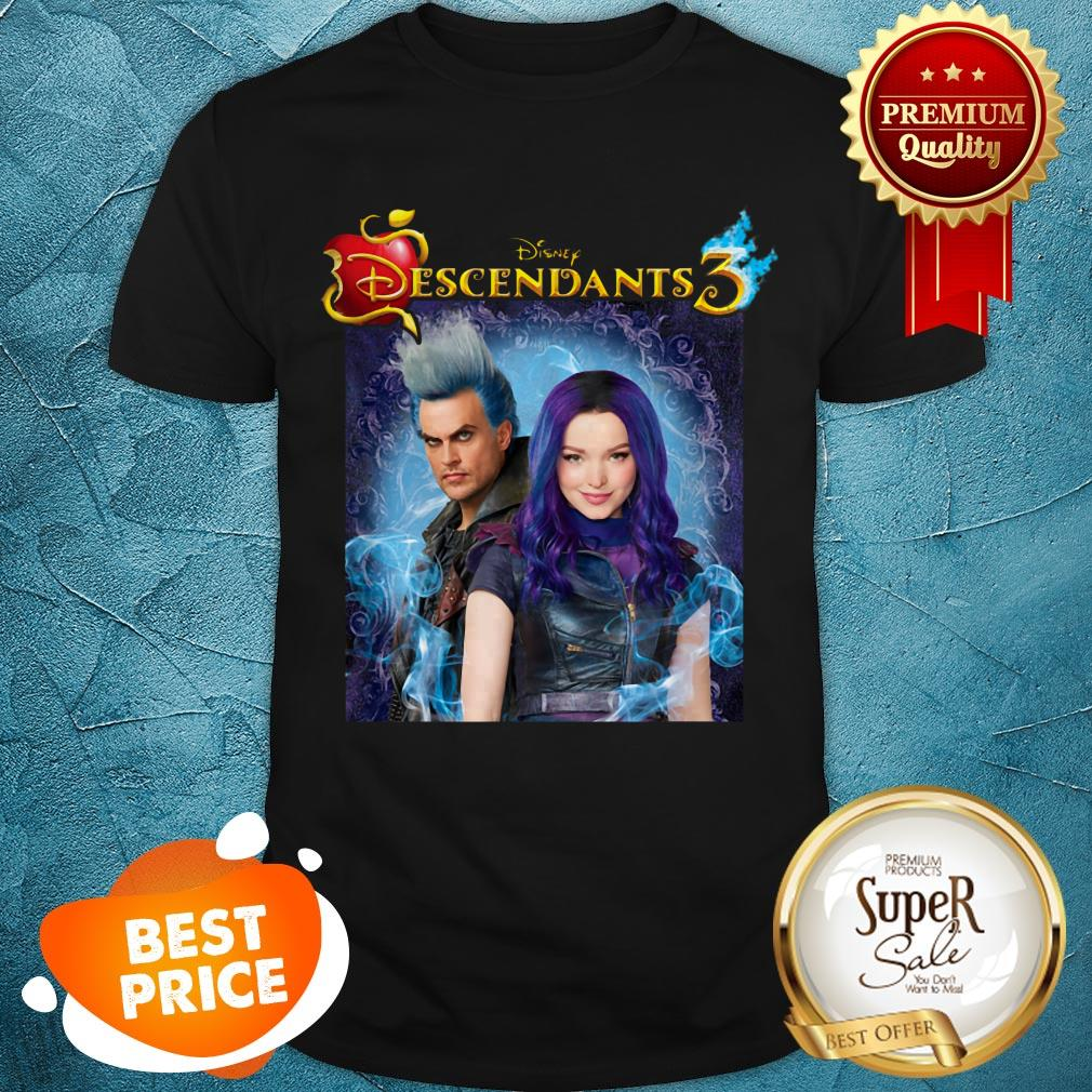 Nice Disney Descendants 3 Hades Blood Shirt