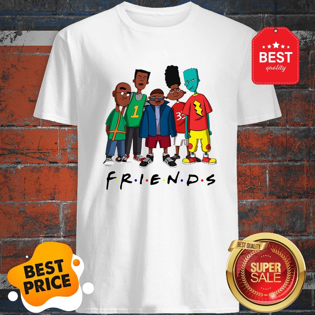 Official Friends We Are Black History Month Shirt