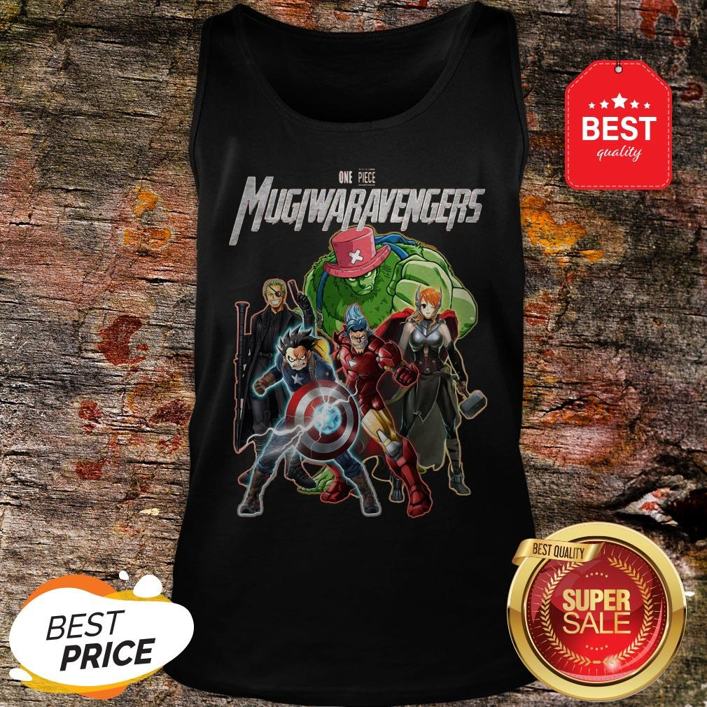 Official Marvel Avengers One Piece Mugiwaravengers Tank Top