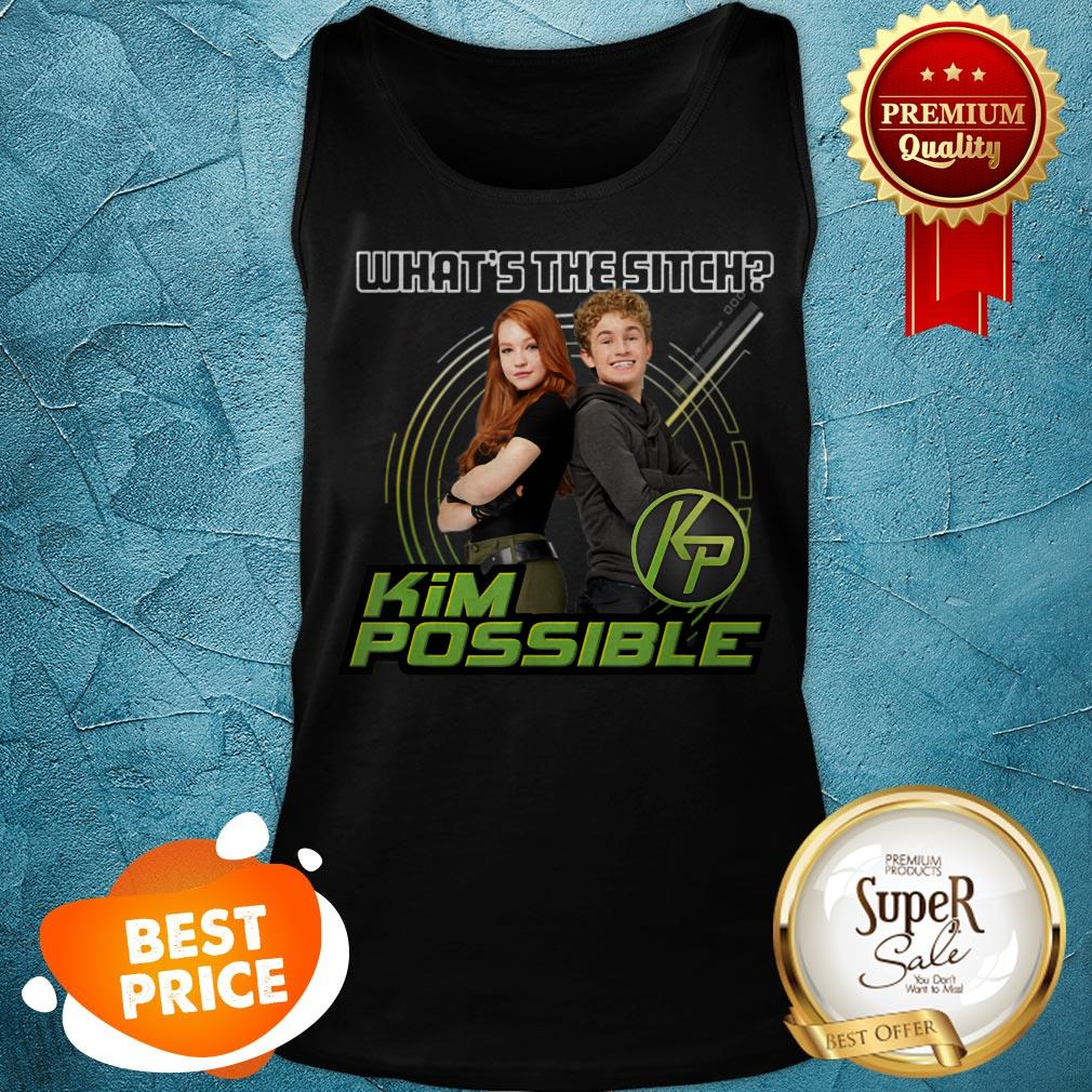 Nice Disney Kim Possible What's The Sitch Tank Top