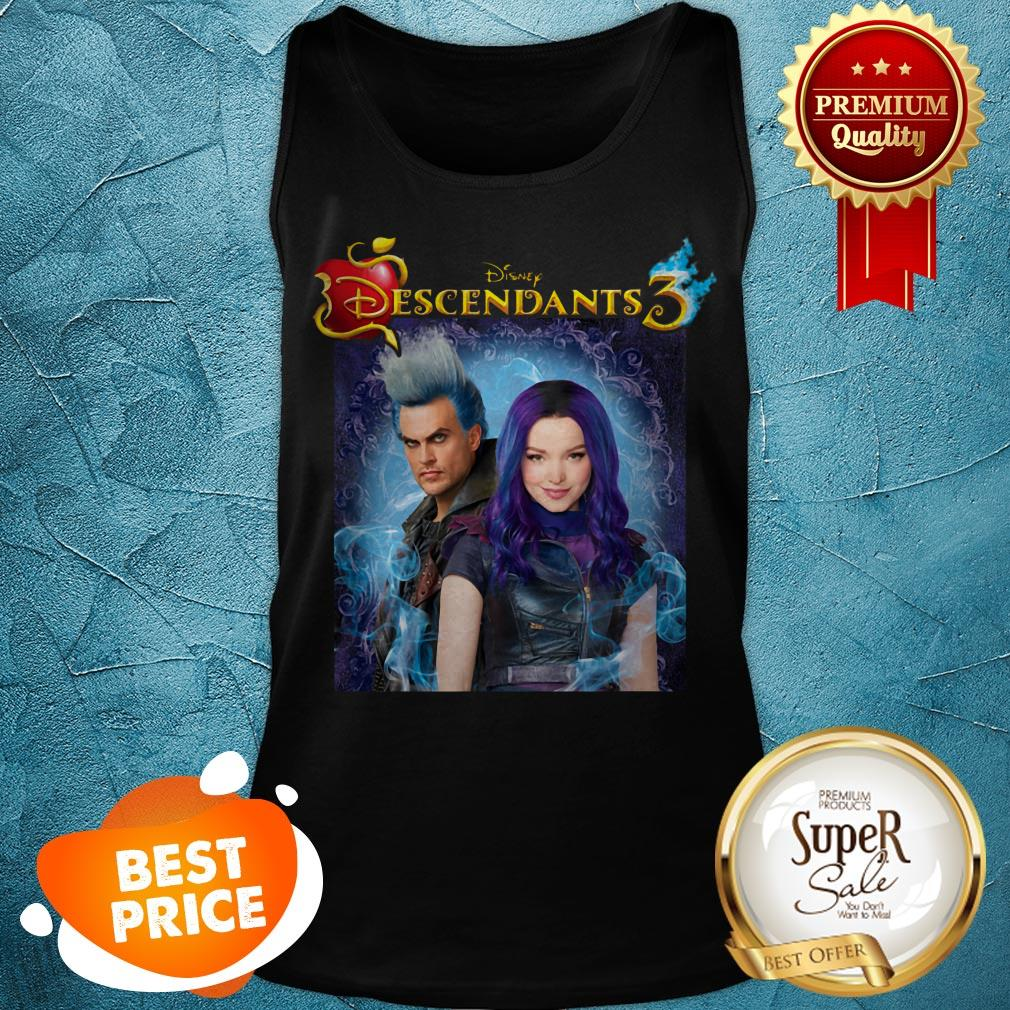 Nice Disney Descendants 3 Hades Blood Tank Top