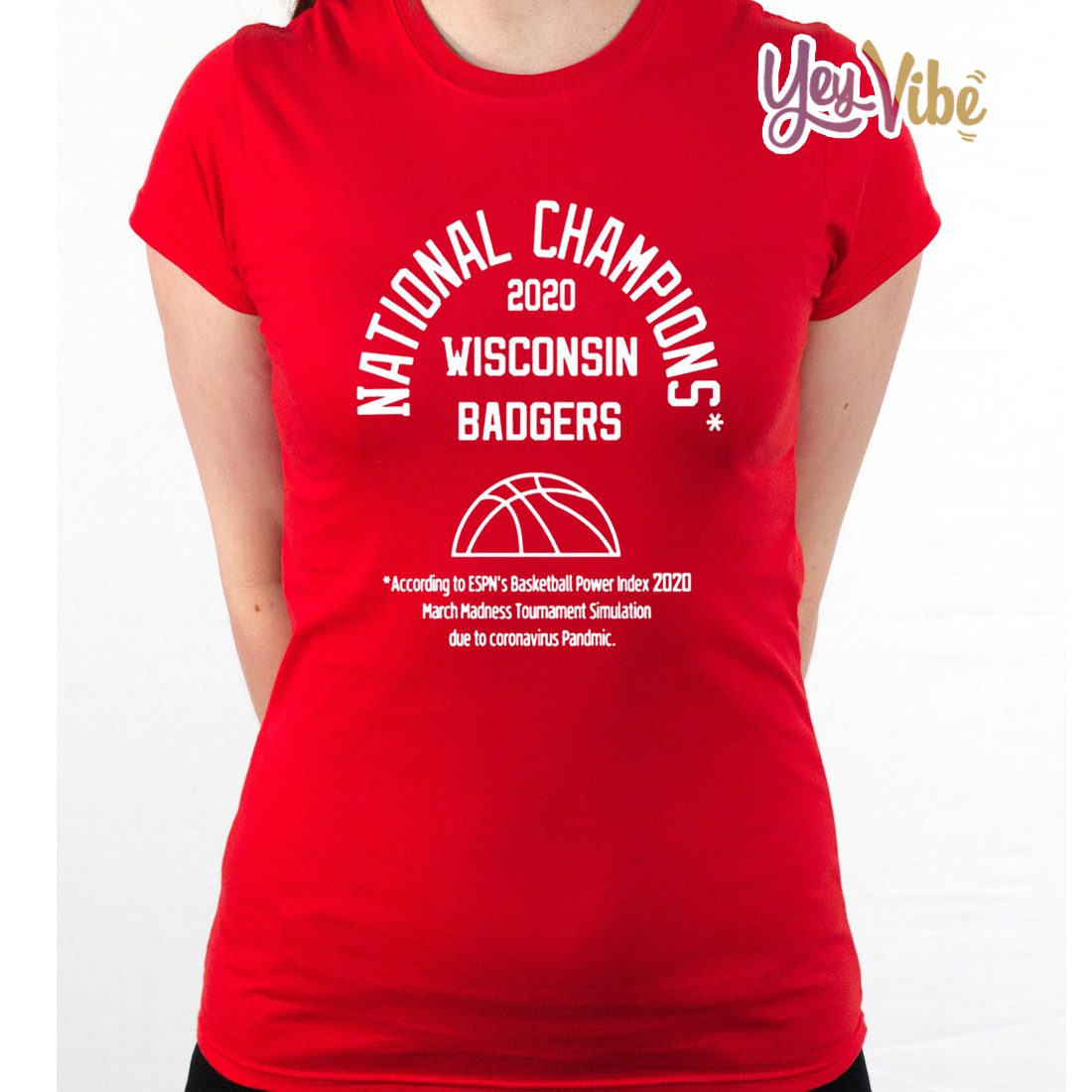 2020 NATIONAL CHAMPIONS WISCONSIN BADGERS SHIRT