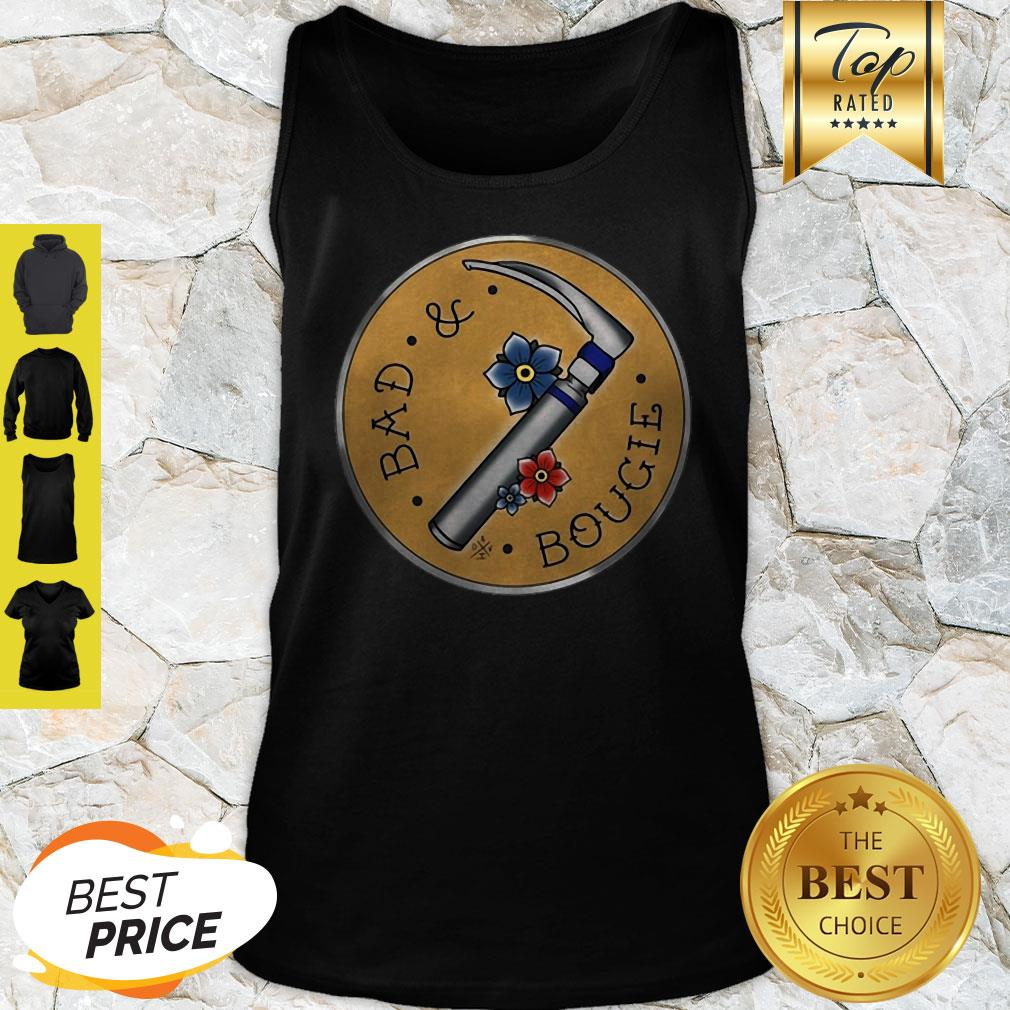 Official Respiratory Therapist Bad And Bougie Tank Top