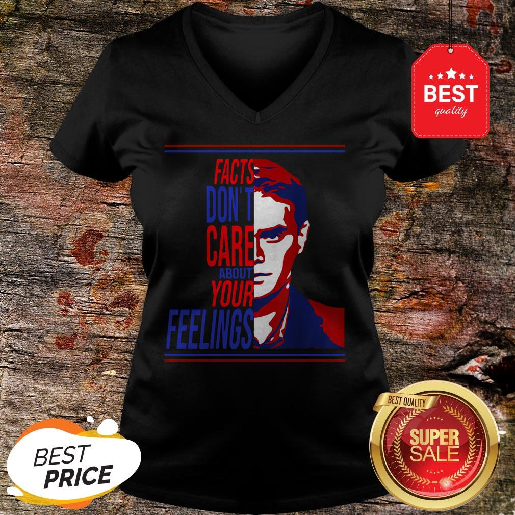 Official Facts Don't Care About Your Feelings Ben Shapiro V-Neck