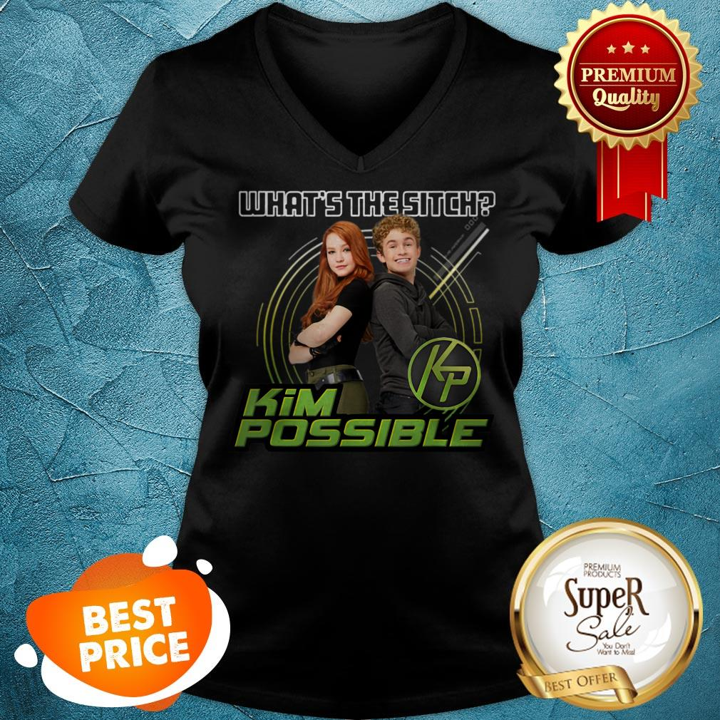 Nice Disney Kim Possible What's The Sitch V-neck