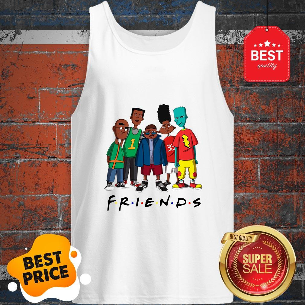 Official Friends We Are Black History Month Tank Top
