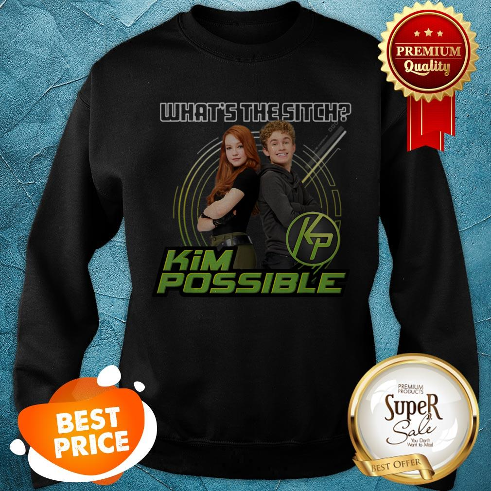 Nice Disney Kim Possible What's The Sitch Sweatshirt