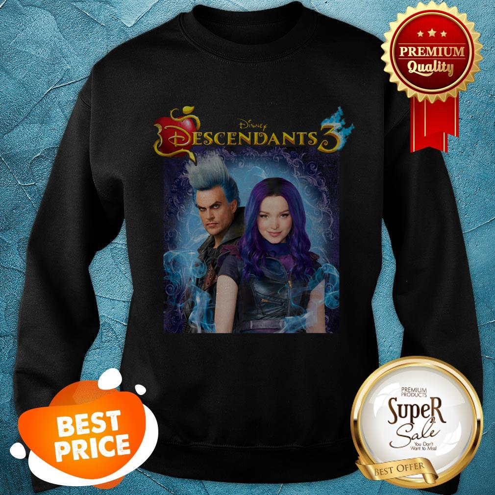 Nice Disney Descendants 3 Hades Blood Sweatshirt