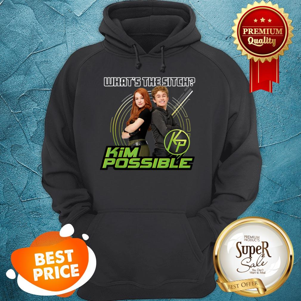 Nice Disney Kim Possible What's The Sitch Hoodie