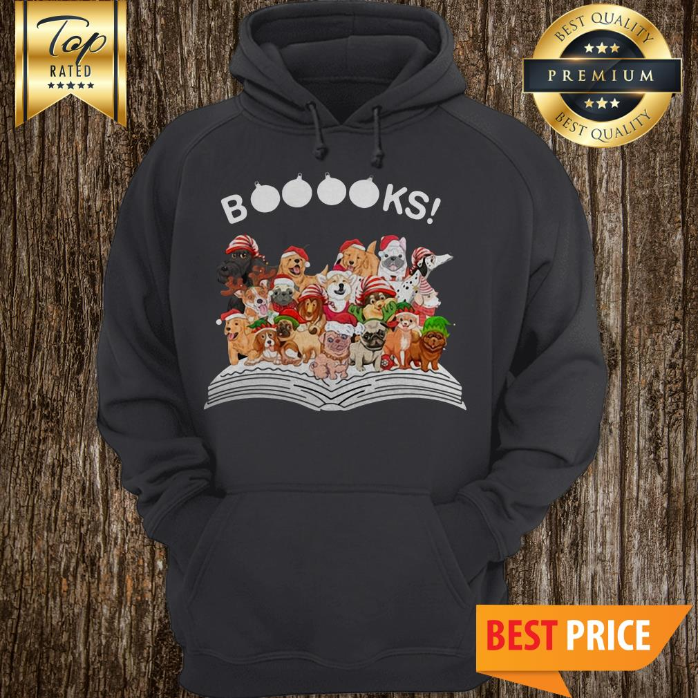 Official Book Dog Christmas Hoodie