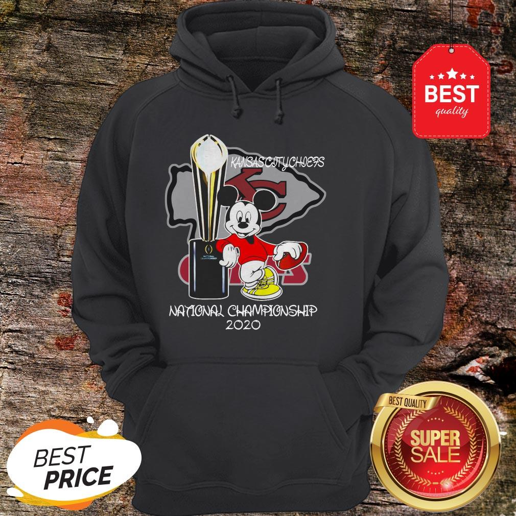 Official Mickey Kansas City Chiefs National Champions 2020 Hoodie