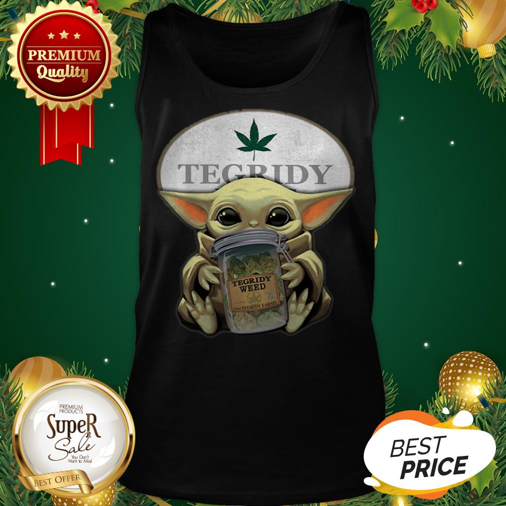 Baby Yoda Hug Tegridy Weed South Park Tank Top