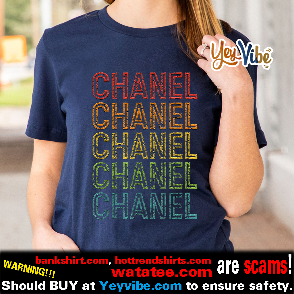 Chanel First Given Name 1970s Vintage T Shirt