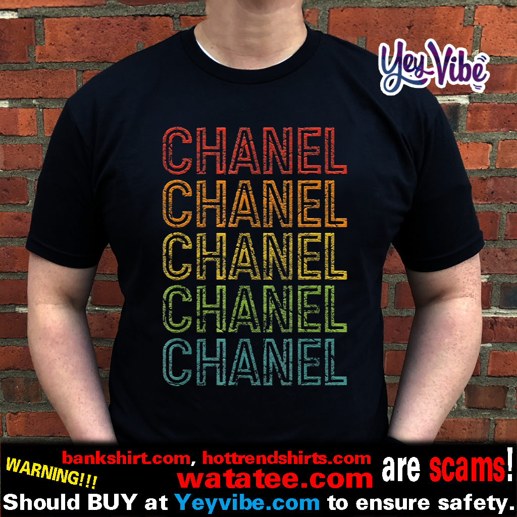Chanel First Given Name 1970s Vintage T Shirts