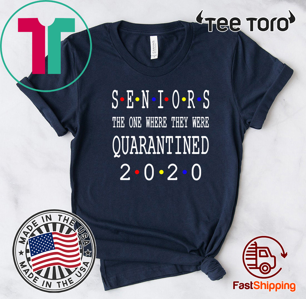 Class Of 2020 Graduation Senior Funny Quarantine Senior 2020 Shit Getting Real Hot T-Shirt