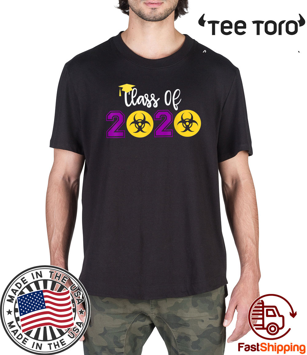 Class Of 2020 Quarantine Official T-Shirt