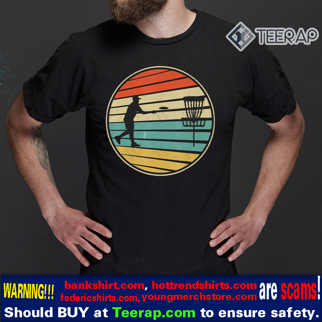 Disc Golf Vintage Retro 80S Style T-Shirts