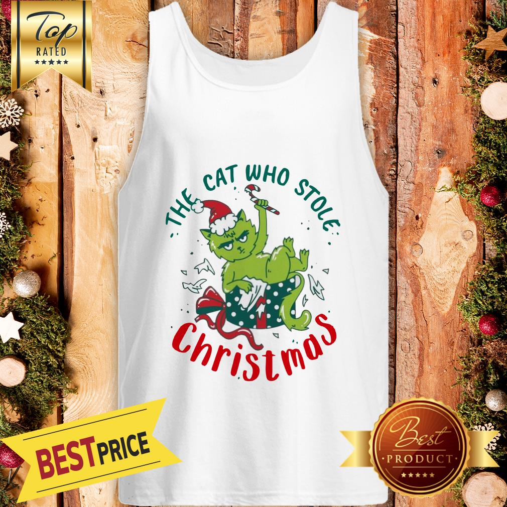 ELF The Cat Who Stole Christmas Tank Top