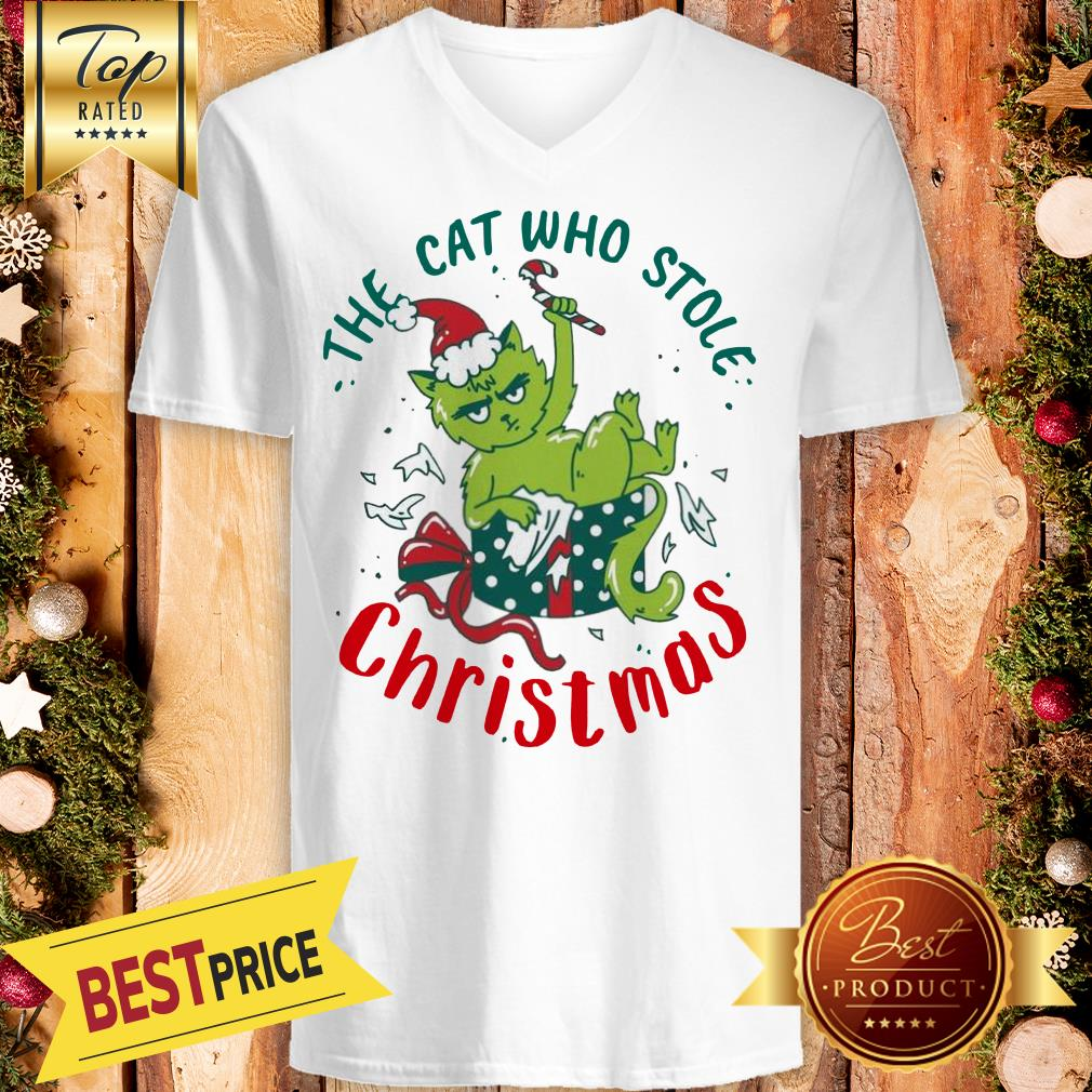 ELF The Cat Who Stole Christmas V-Neck