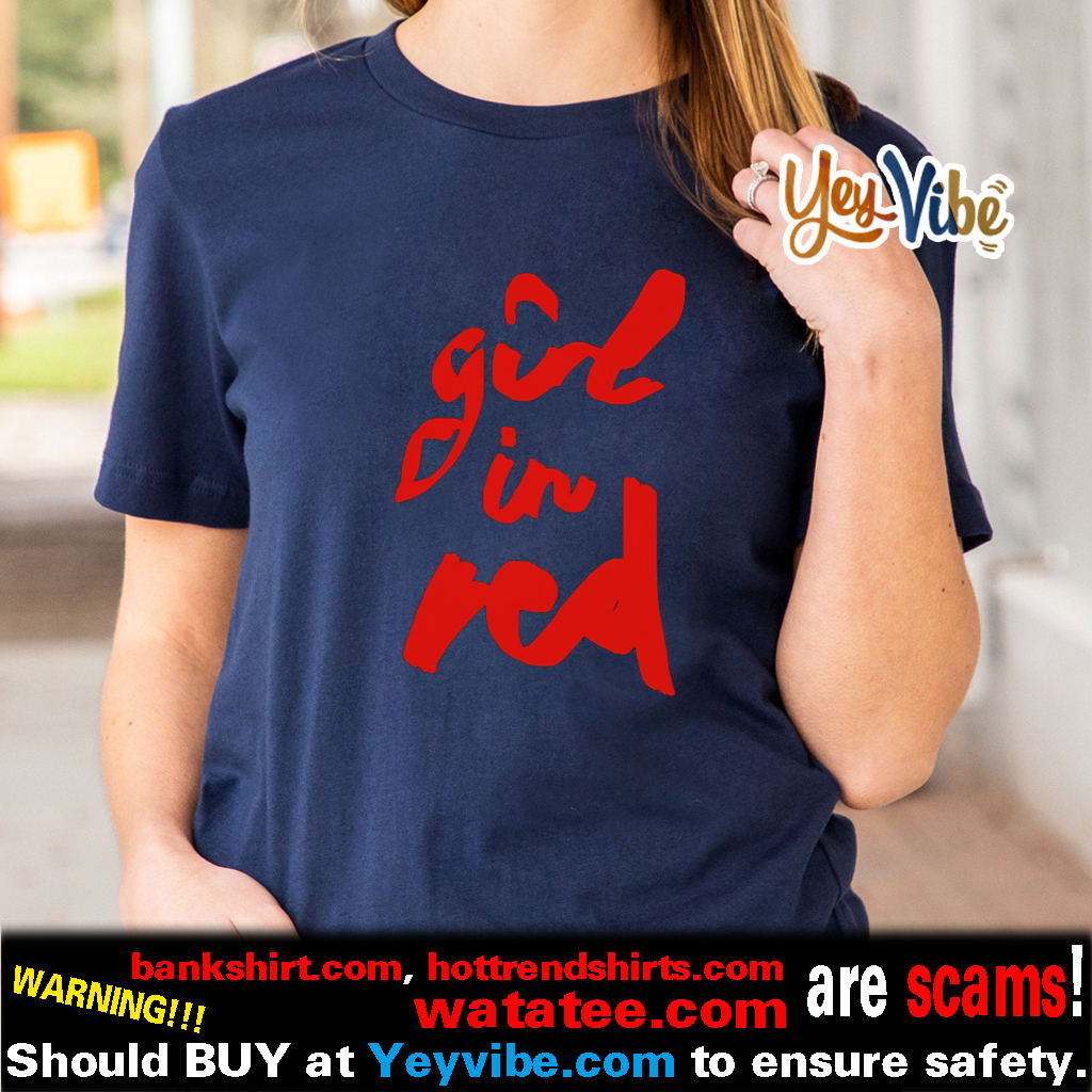 Girl In Red US t shirts