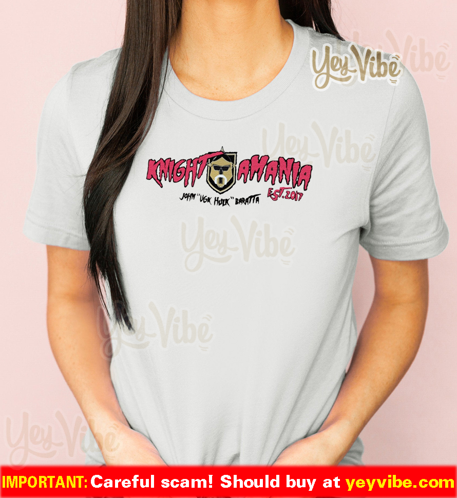 Golden Knights Hulkamania Baratta VGK Hulk Shirts