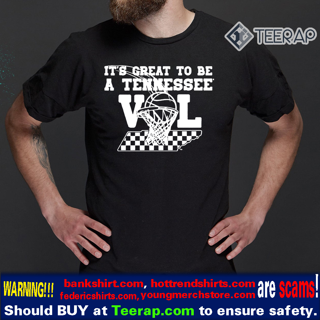its great to be a tennessee vol t-shirts