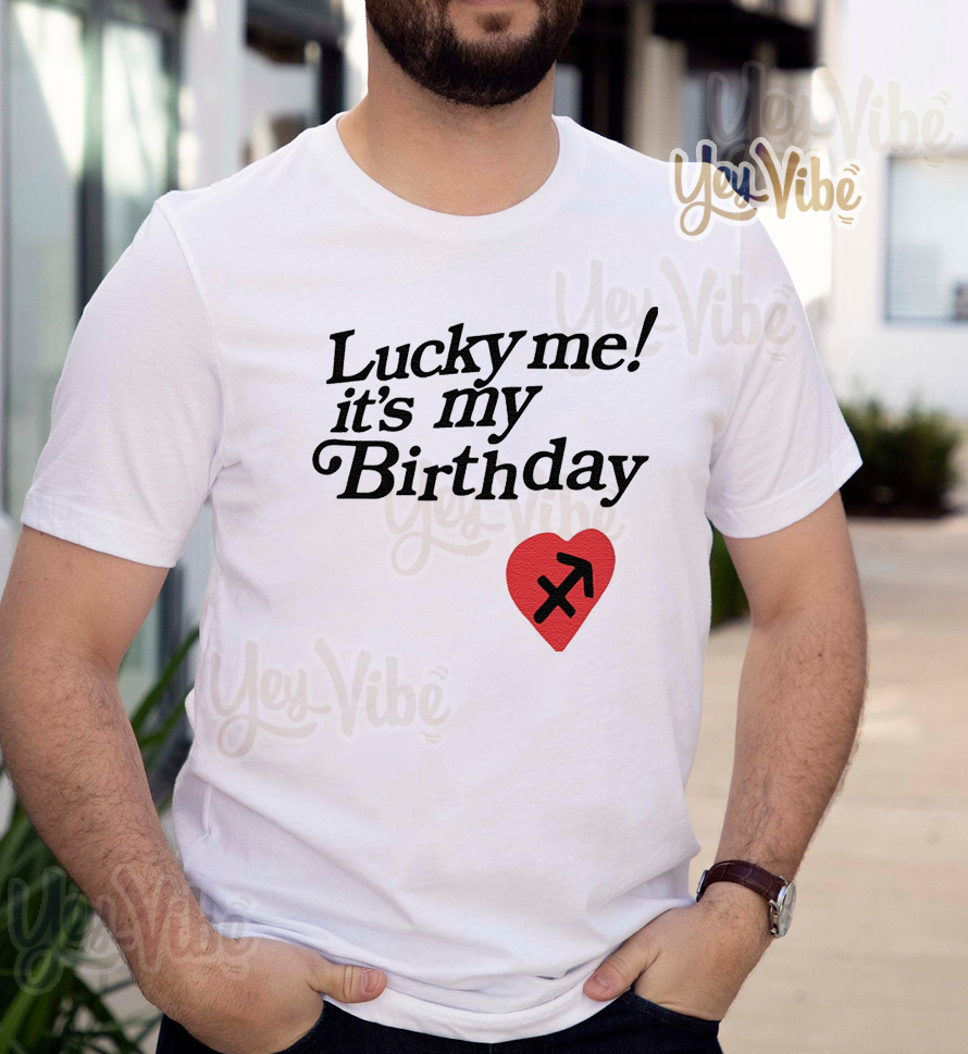 Kanye West Lucky Me Its My Birthday T-Shirts