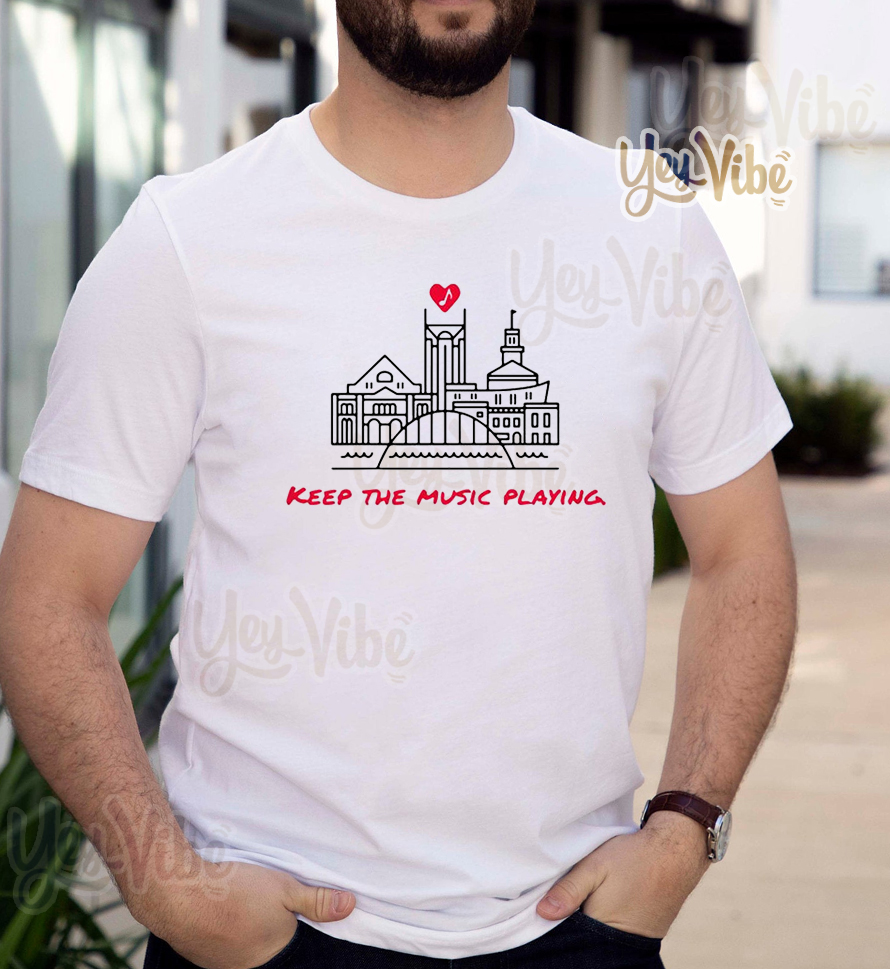 Keep The Music Playing Nashville shirt