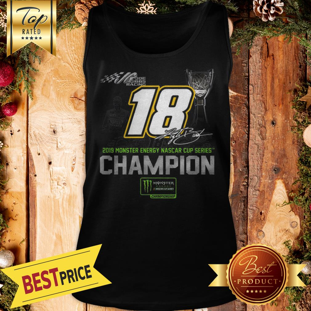 Kyle Busch 2019 Monsters Energy Nascar Cup Series Champion Signature Tank Top
