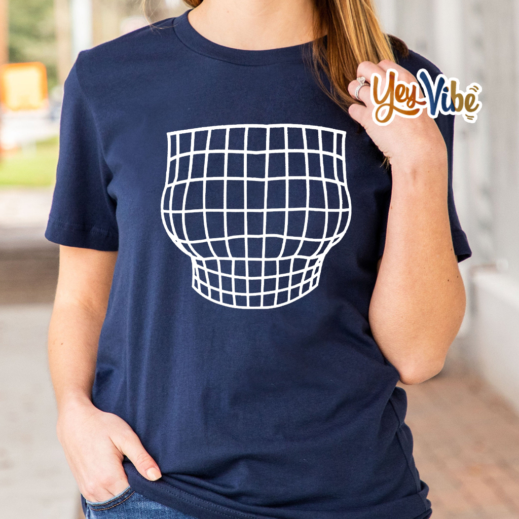 Magnified Chest Optical Illusion Shirt