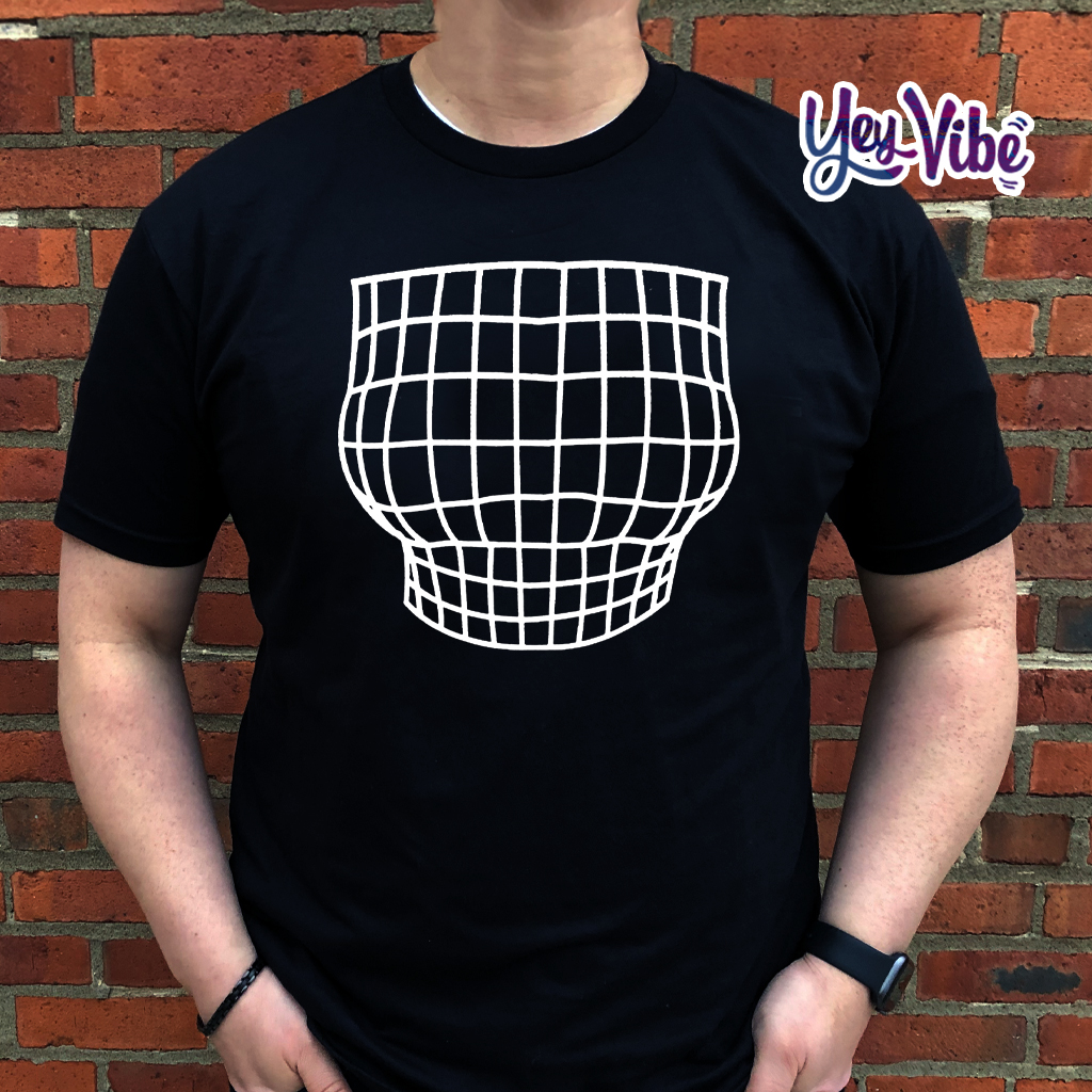 Magnified Chest Optical Illusion Shirts