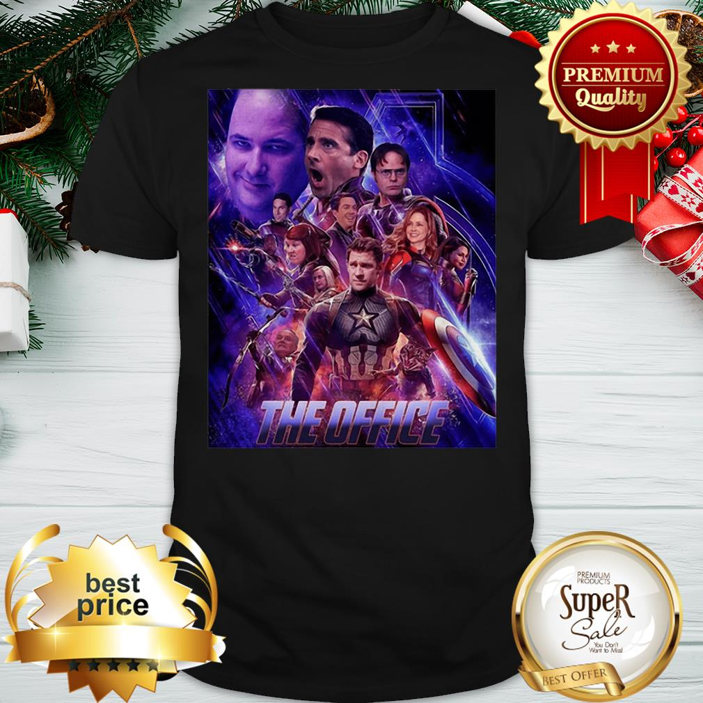 Marvel The Office Avengers Endgame Shirt