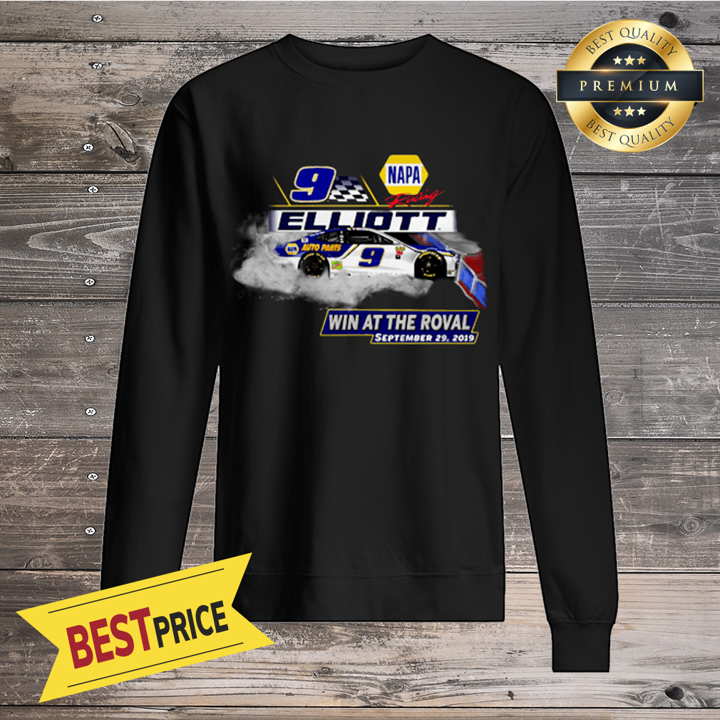 Memorable Memories 9 Elliott Win At The Roval September 29,2019 Shirt