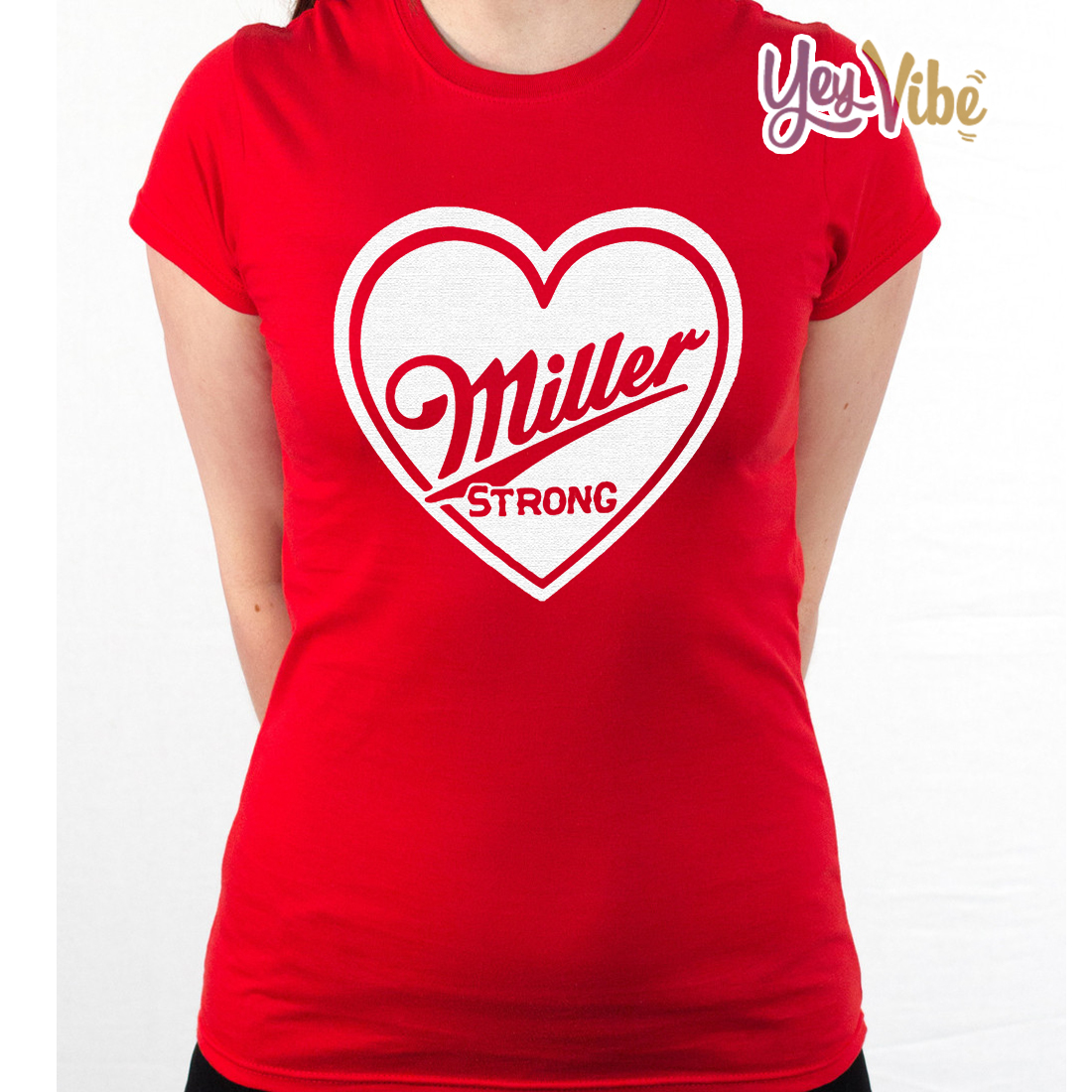 Miller Strong Red T-Shirts