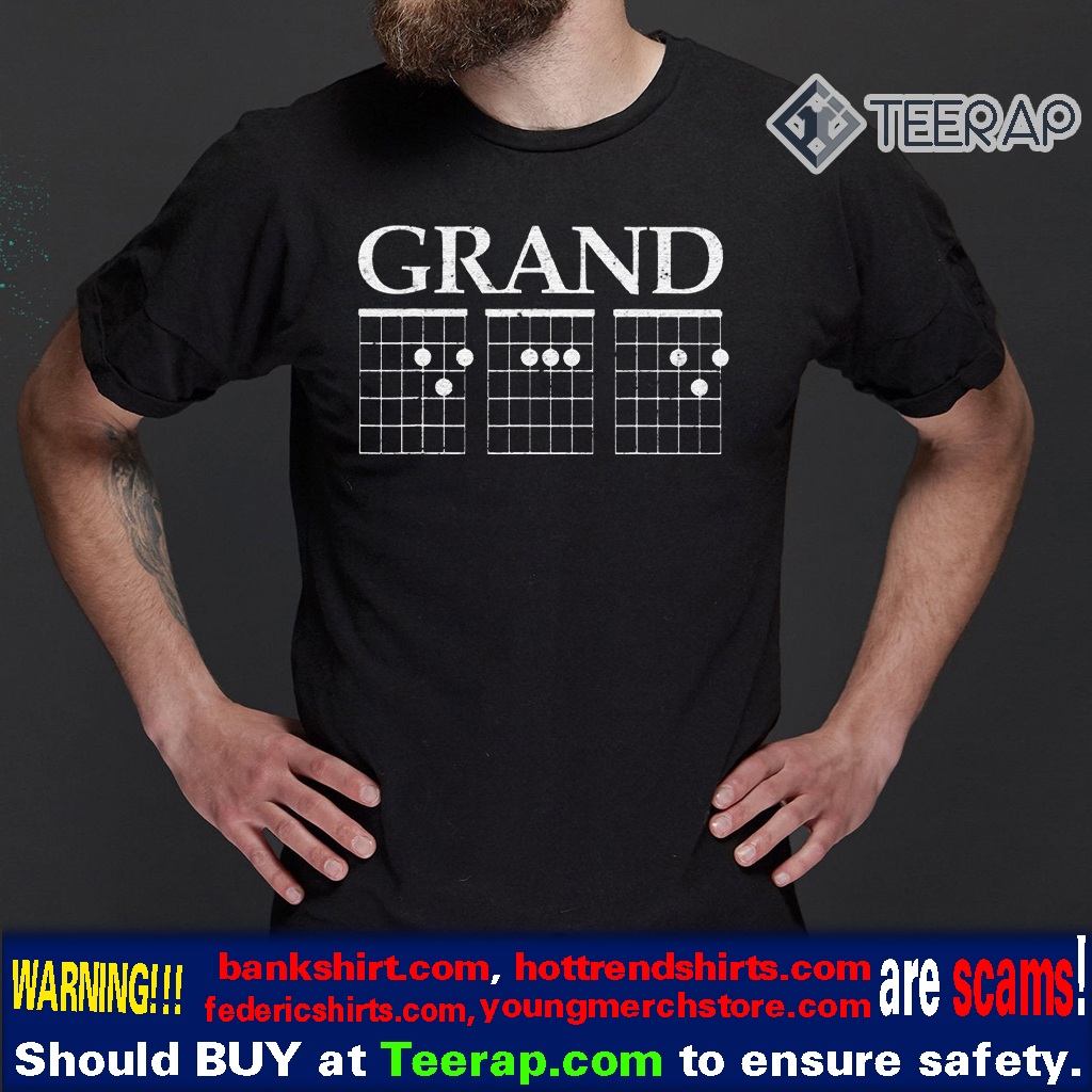 Music Guitar Chord GrandDad Father's Day Shirt