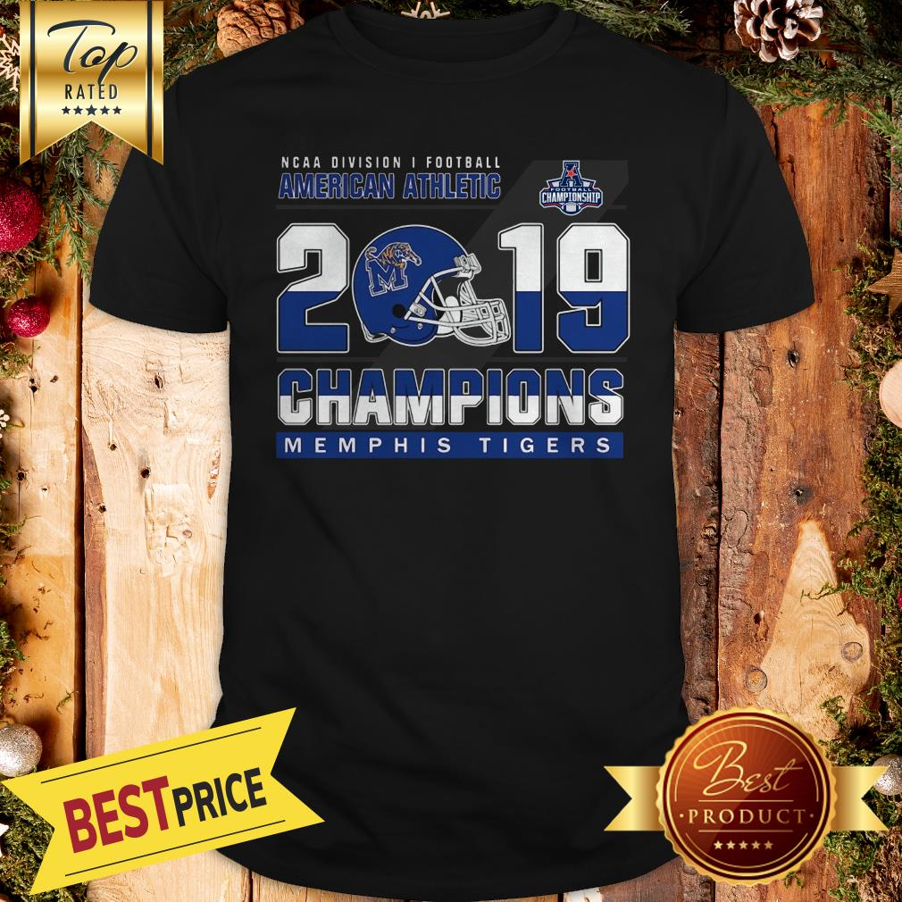 Nice Memphis Tigers Division Athletic Coast 2019 Champions Shirt