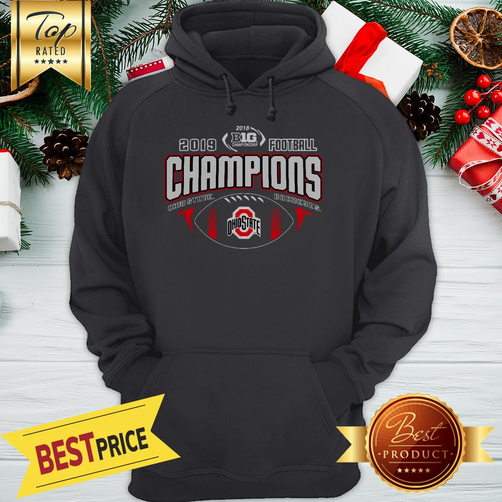 Official 2019 Football Champions Ohio State Buckeyes Sport Hoodie