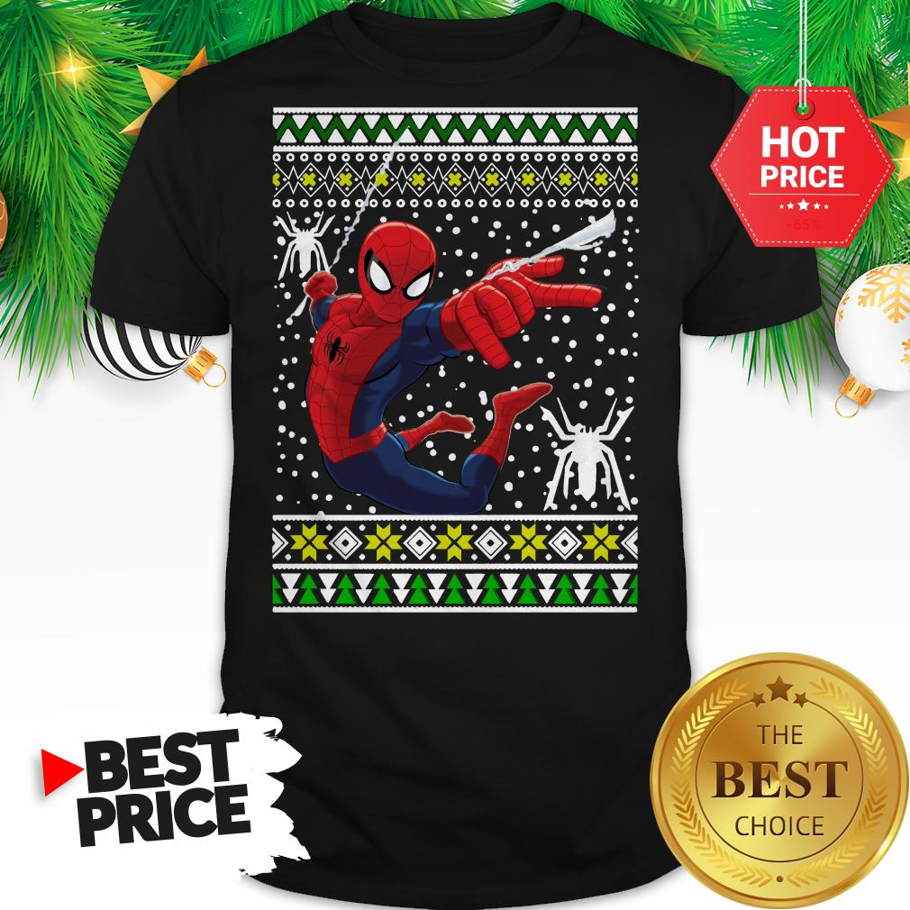 Official Amazing Spiderman ugly Christmas Shirt