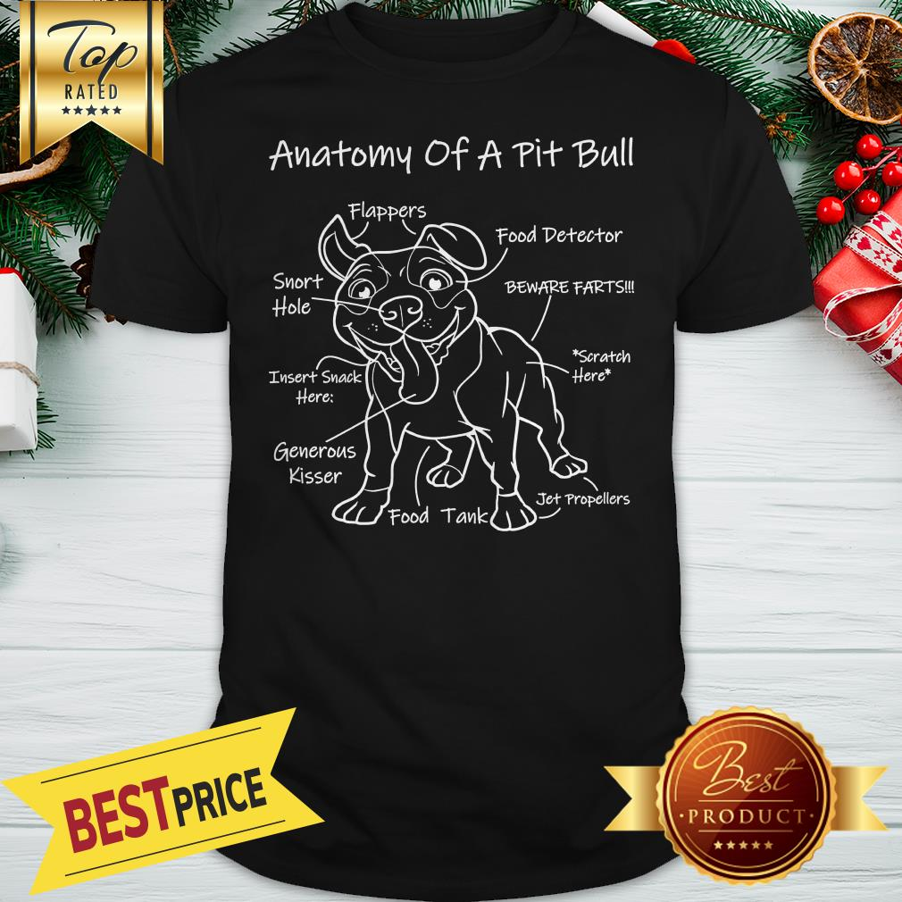 Official Anatomy Of A Pit Bull Shirt