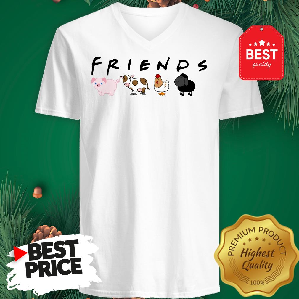 Official Animal Friends V-neck