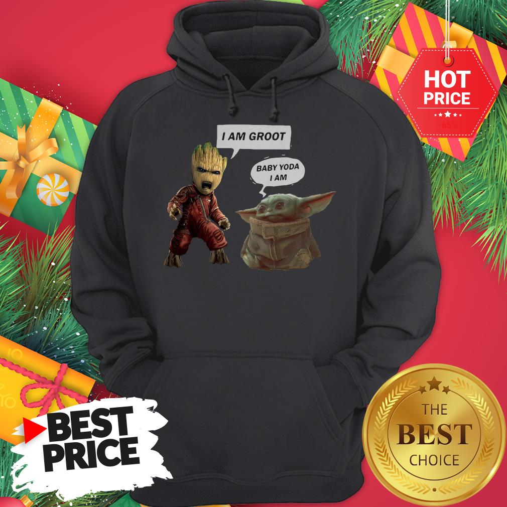 Official Baby Groot Hug Baby Yoda That Log Had A Child Vintage Hoodie