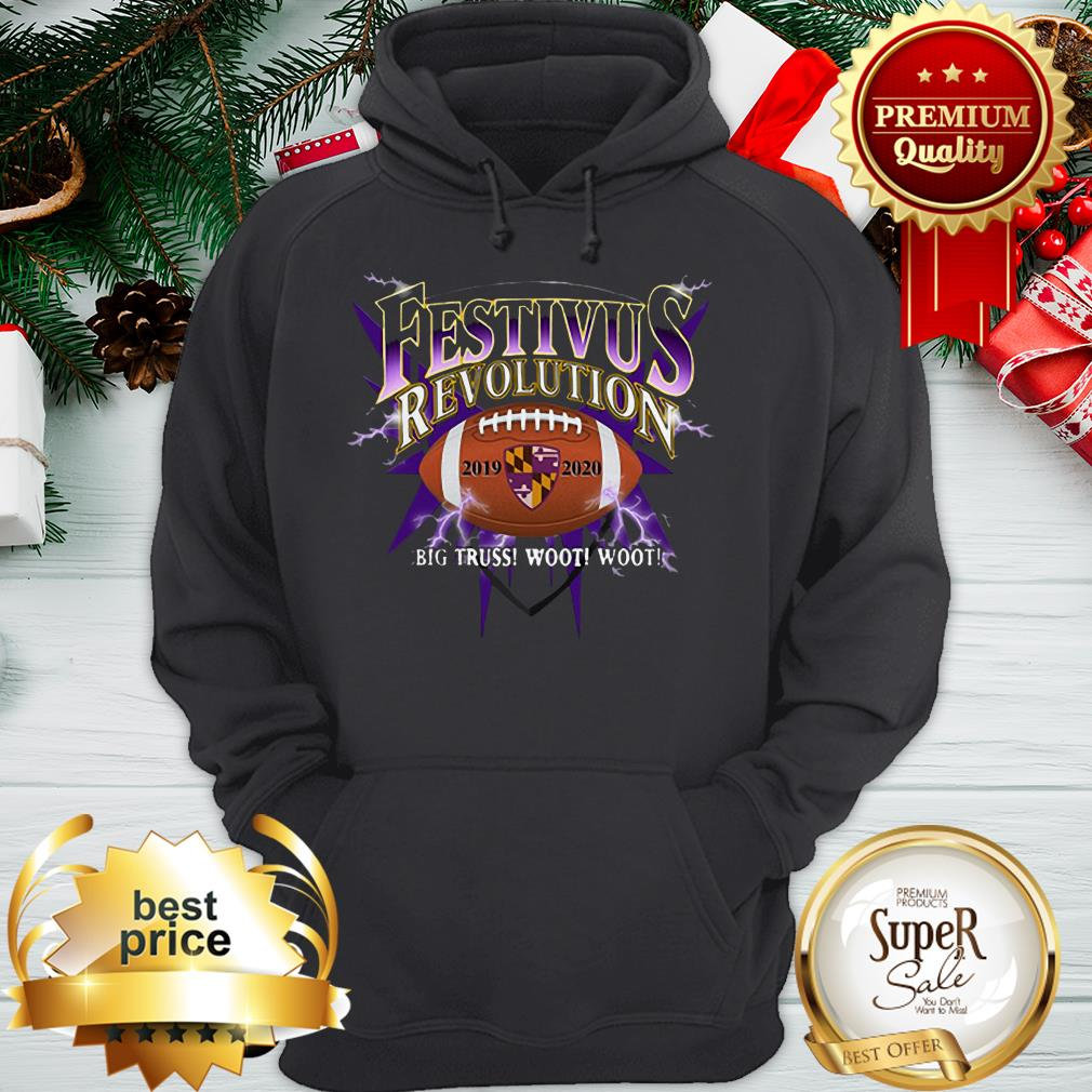 Official Baltimore Ravens Playoff Festivus Hoodie