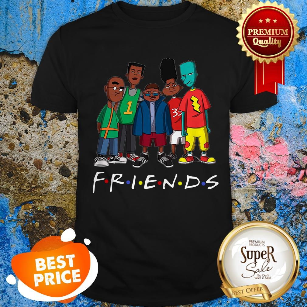 Official Black Legends Rapper's Friends Shirt