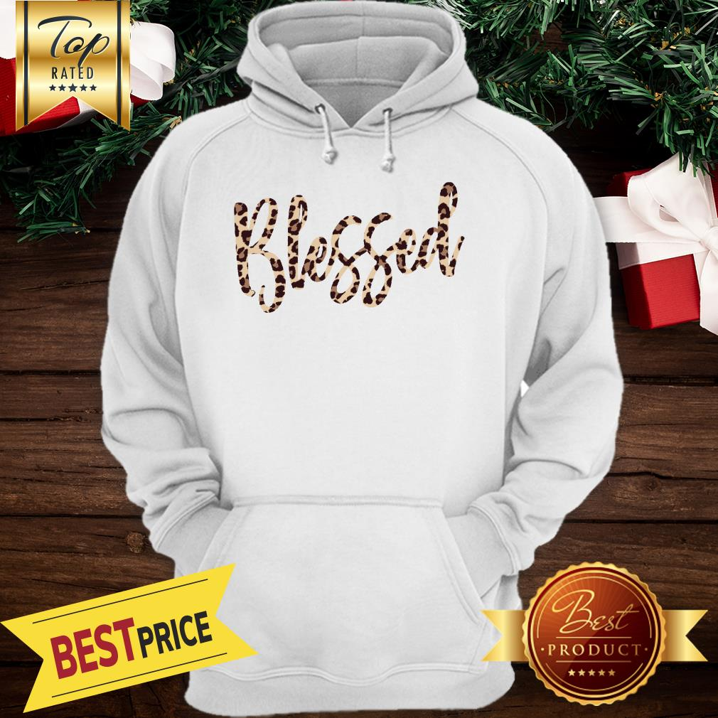 Official Blessed Leopard Hoodie