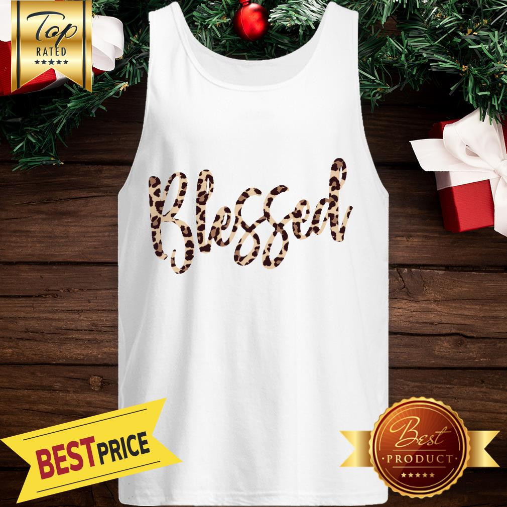 Official Blessed Leopard Tank Top