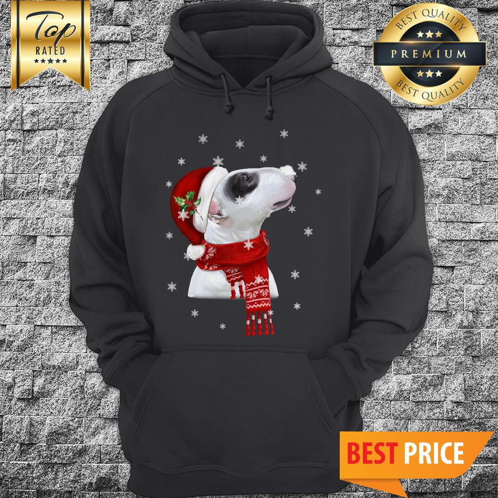 Official Bull Terrier With Christmas Hoodie