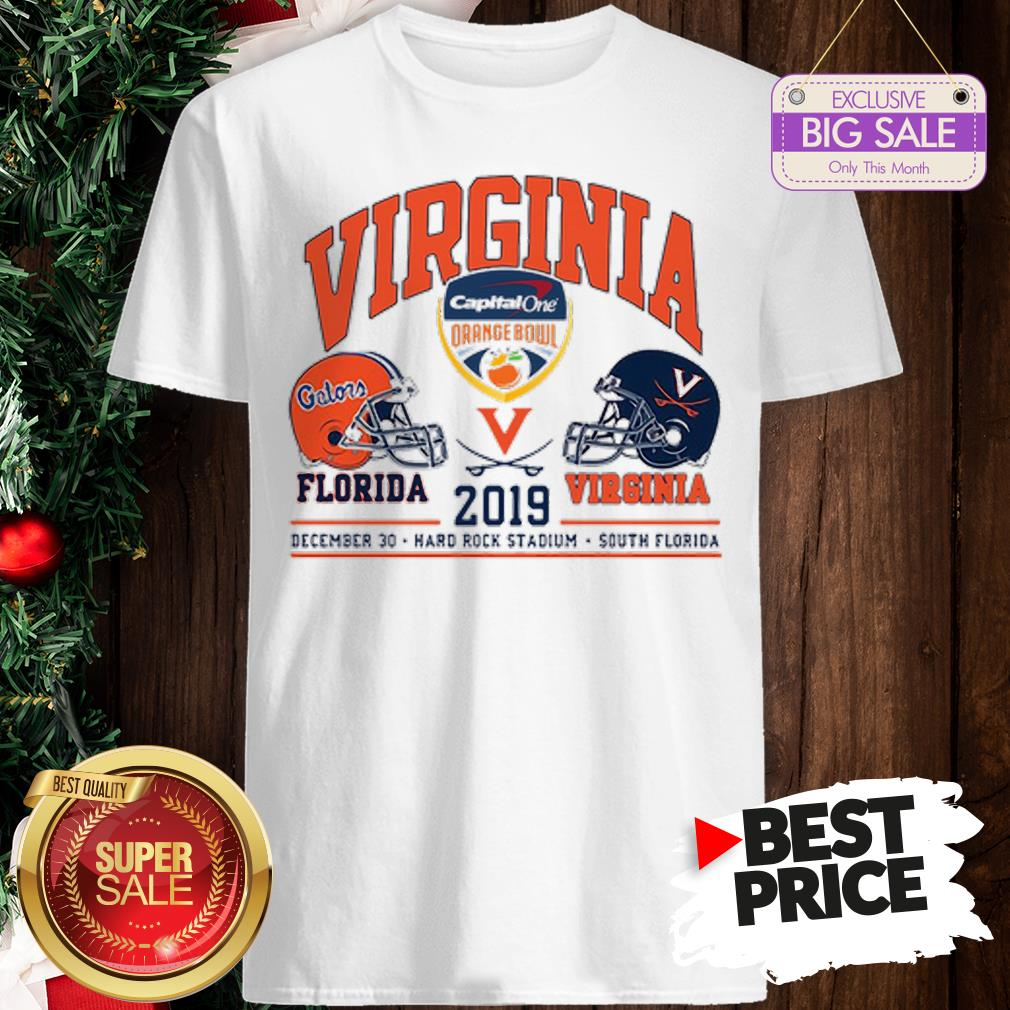 Official Capital One Orange Bowl Florida Gators vs Virginia Cavaliers 2019 Shirt